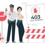 מהי שגיאה 403 וכיצד לתקן אותה
