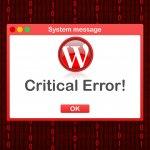 אירעה שגיאה קריטית באתר שלך: הסיבה להודעת השגיאה מהוורדפרס